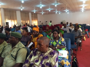 A cross section of participants, including security forces, traditional rulers, LGA chairman and programme officers in the KSPHCDA