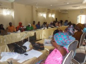 Cross section of the participants (health educators' from the 16 LGAs in the state.)